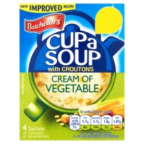 Batchelors Cup a Soup Cream of Vegetable with Croutons PM £1.59