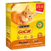 Go Cat Chicken, Turkey & Vegetables PM £1.15