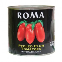 Roma Peeled Plum Tomatoes