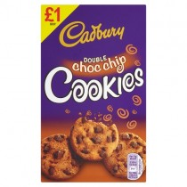 Cadbury Double Choc Chip Cookies PM £1