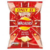Walkers Ready Salted PM £1