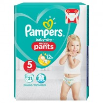 Pampers Baby Dry Nappy Pants Size 5 21 Nappies PM £4.99