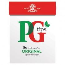 PG Tips Original 80 Teabags PM £2.65