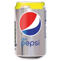 Diet Pepsi 330ml PM 59p or 2/£1