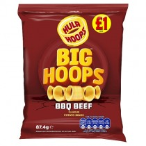 Hula Hoops Big Hoops BBQ Beef PM £1