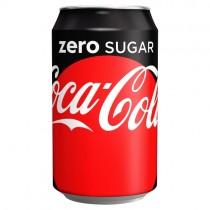 Coca Cola Zero 330ml PM 59p