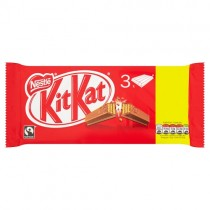 KitKat 4 Finger 3 Pack PM £1