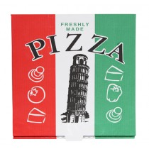 Roma Tower White Pizza Box 10''