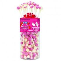 Vidal Lotta Strawberry & Cream Lollies PM 5p