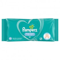 Pampers Fresh Clean Baby Wipes 52s