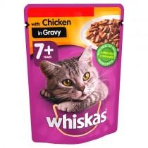Whiskas 7+ Chicken in Gravy PM 3/£1.19