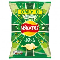 Walkers Salt & Vinegar PM £1
