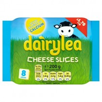 Dairylea Cheese Slices 8 Pack PM £1.70