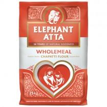 Elephant Atta Wholemeal Chapati Flour 25kg