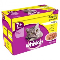 Whiskas 7+ Poultry Selection PM £3.75