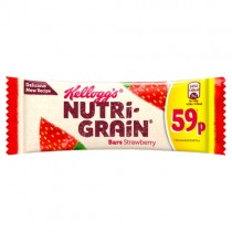 Kelloggs Nutri Grain Strawberry PM 59p