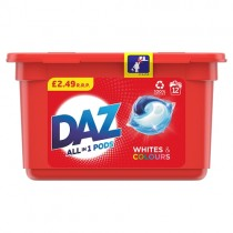 Daz All in One Pods 12 Wash PM £2.49
