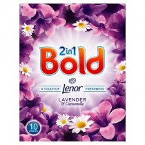 Bold 2in1 Lavender & Camomile Washing Powder 10 Wash PM £2.99