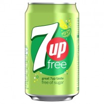 7up Free 330ml PM 59p or 2/£1