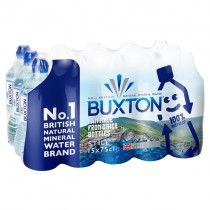 Buxton Natural Mineral Water Sports Cap 750ml