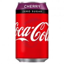 Coca Cola Zero Sugar Cherry 330ml PM 59p
