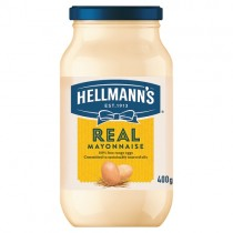Hellmanns Real Mayonnaise 400g PM £2.19