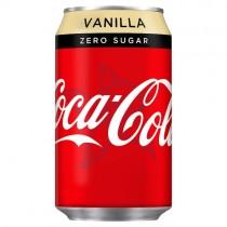 Coca Cola Zero Sugar Vanilla 330ml PM 59p