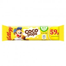 Kelloggs Coco Pops Cereal Bar PM 59p