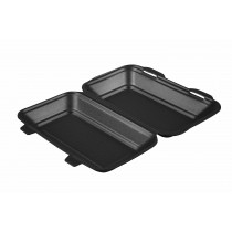 HP10TT Black Kebab Fish & Chips Box