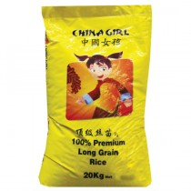 China Girl Long Grain Rice 20kg