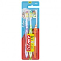 Colgate Extra Clean Triple Pack Toothbrushes