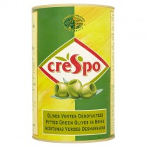 Crespo Pitted Green Olives 4.3kg