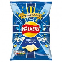 Walkers Cheese & Onion PM 65p