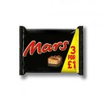 Mars 3 Pack PM 3/£1