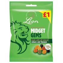 Lion Midget Gems PM £1