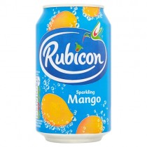 Rubicon Sparkling Mnago 330ml PM 69p
