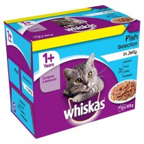 Whiskas Fish Selection in Jelly 100g PM £3.75
