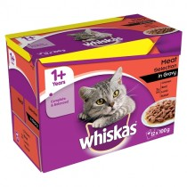 Whiskas Pouches Meat Selection PM £3.75