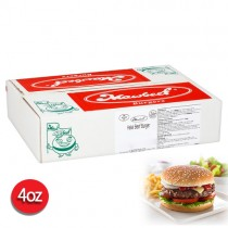 Mawbeef Halal 4oz American Beef Burger