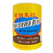 Preserved Beans with Ginger