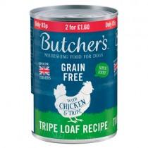 Butchers Chicken & Tripe 400g PM 85p