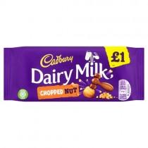 Cadbury Dairy Milk Chopped Nut PM £1
