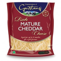 Dewlay Grated Mature Cheddar Cheese