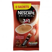 Nescafe Original 3 in 1 6 Sachets PM £1