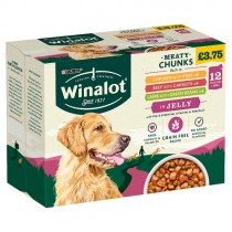 Winalot Meaty Chunks in Jelly PM £3.75