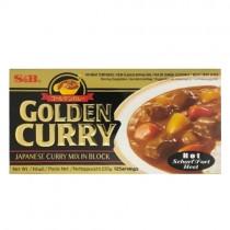 S&B Golden Curry Block Hot