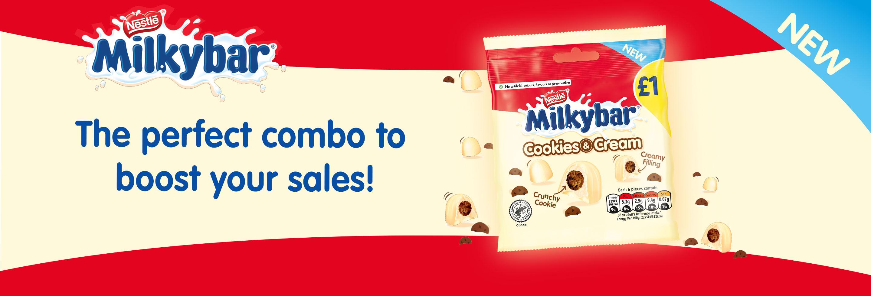 Milkybar Cookies & Cream
