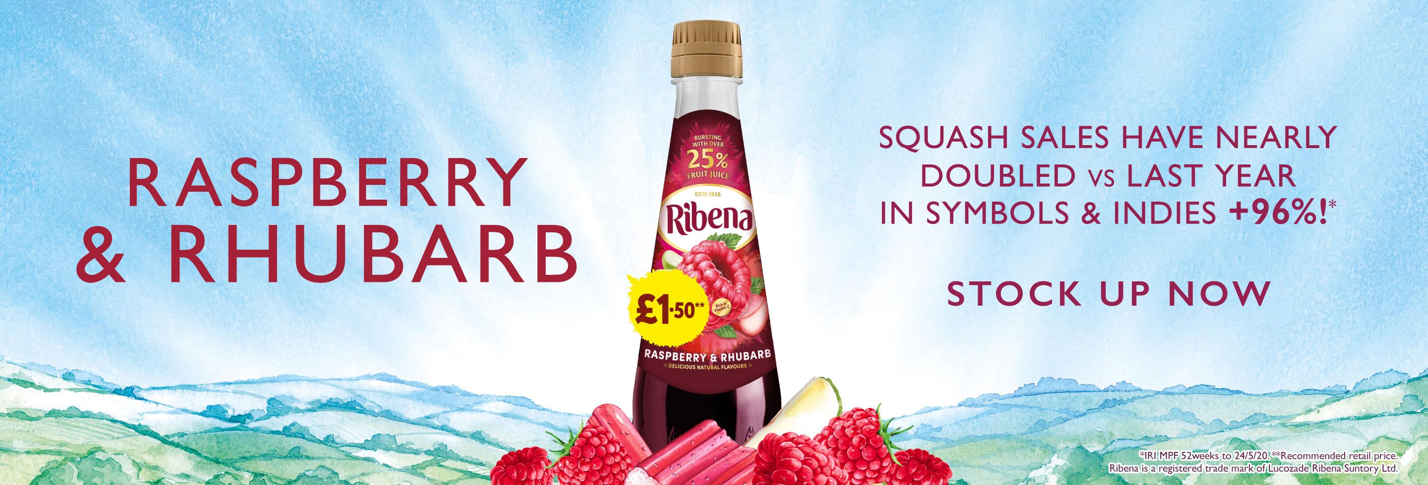 Ribena Raspberry Rhubarb