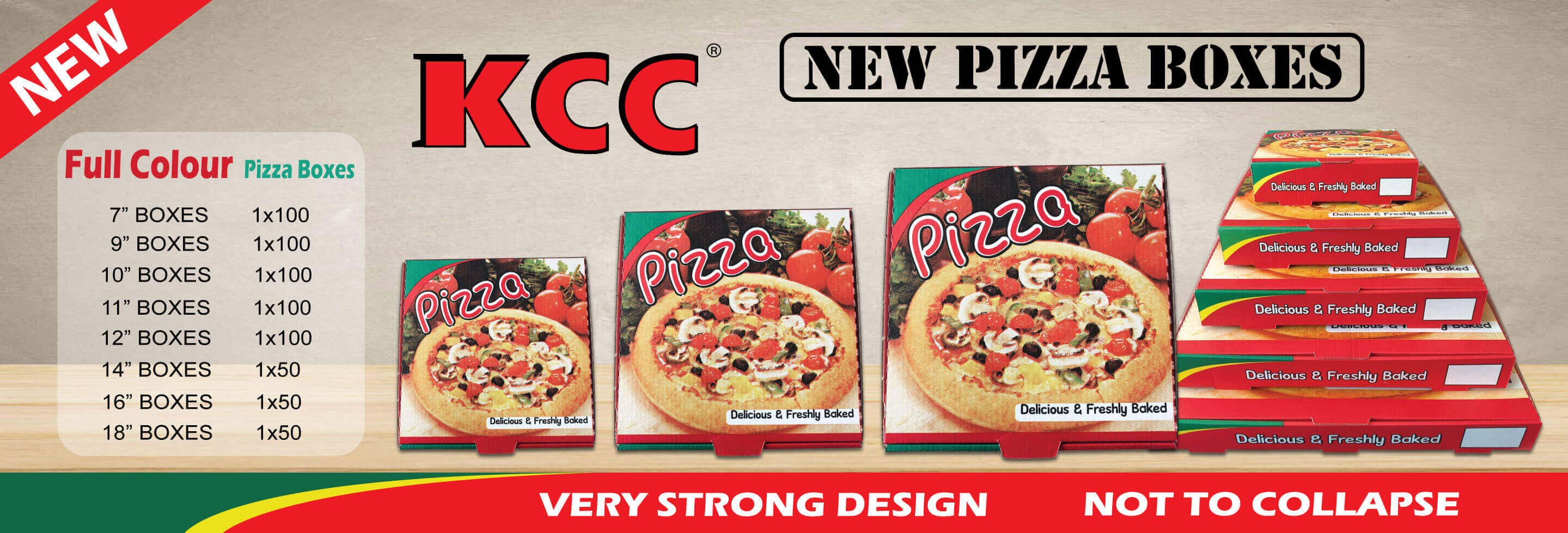 KCC Pizza Box